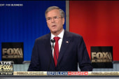 Bush offers angry response to Trump