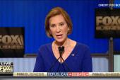 Fiorina jabs at Trump-Putin 'bromance'