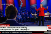 Clinton on dealing with political attacks