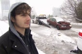 Crash victim's advice: 'Slow down' in snow