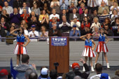 'USA Freedom Kids' perform at Trump rally