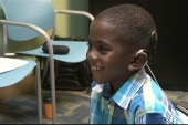 7-year-old receives the gift of hearing