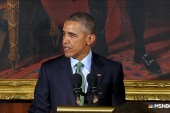 Obama calls for unity in St. Patrick's speech
