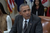 Pres. Obama meets with civil rights reps