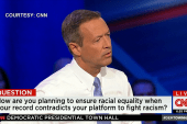 O'Malley defends record on fighting racism