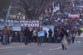 Pro-life rally met by counter-protesters