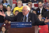 Sanders discusses meeting Flint families