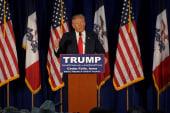 Trump comments on Iran detaining US sailors
