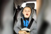 3-year-old freaks out because he can't vote