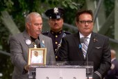 A solemn remembrance in NYC on 9/11