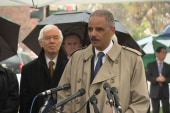 Eric Holder honors Emmett Till at ceremony