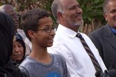 Ahmed thanks Obama, Zuckerberg for support
