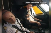 Accessing an Airbus cockpit in an emergency