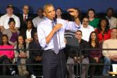 Obama admits basketball game 'a little broke'
