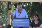 Bernie Sanders speaks at Iowa town hall