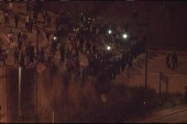 Protesters march after Porter mistrial