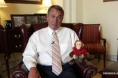 John Boehner--Congress's clapping monkey?!