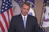 Boehner warns Obama not to 'play with...