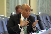 Booker: no more collegiate athletes exploited
