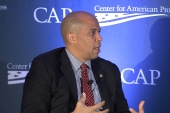 Booker on Ferguson and showing leadership