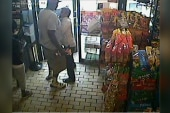 Surveillance footage of Michael Brown