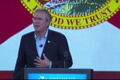 Bush talks taxes, government reform in Ohio