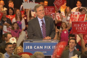 Bush: Election is not about personalities