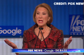 Fiorina 'would've left' husband