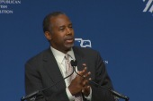 Carson revisits issues in the Middle East