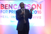 Carson's view on monitoring mosques