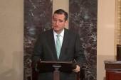 Ted Cruz invokes Cicero on Senate floor