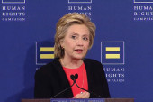 Clinton pledges to make LGBT rights top...