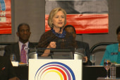 Clinton: 'The American Team' should be for...