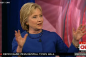Clinton not worried about attacks on her