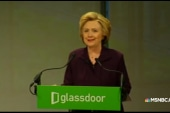 Hillary Clinton 'debunks' pay gap myths