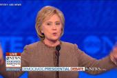 Clinton rallies candidates to take on gun...