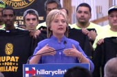 Clinton: We need to raise wages