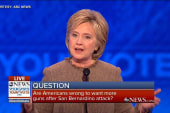 Clinton: Guns 'will not make America safer'