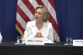 Clinton pushes for 'equality' in Puerto Rico