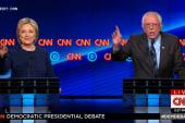 Clinton, Sanders spar over job creation