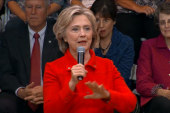 Clinton attacks NRA: 'We're better than this'