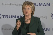 Clinton attacks GOP for 'privatizing' VA