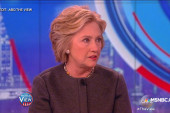 Clinton: 'I'm proud of the campaign...