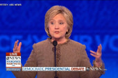 Clinton fires back at O'Malley