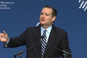 Cruz holds moment of silence for victims