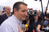 Cruz: Sharp differences between the...