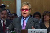 Elton John: World must step up in AIDS fight