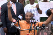 Parks: 'We must remain peaceful'