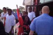 Fast food strikers asked to leave in Raleigh