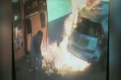 Woman ignites gas tank at Israel gas station